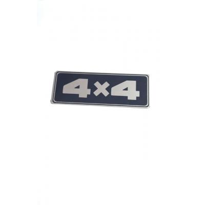 Emblema adesivo  Lateral  4x4  ( valor unitário )