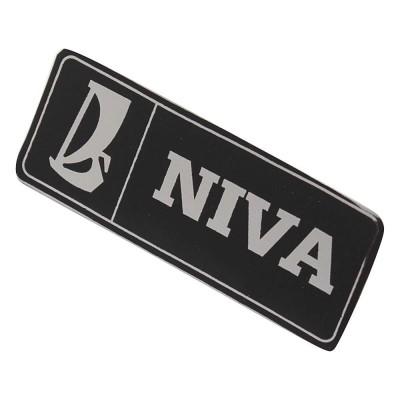 Emblema  Lateral adesivo  NIVA           ( valor unitário )