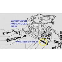 Parafuso da mistura Carburador  Solex russo 21053