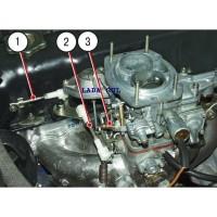 Reparo Cabo Do Acelerador  Carburador 2107  Lada Niva Laika
