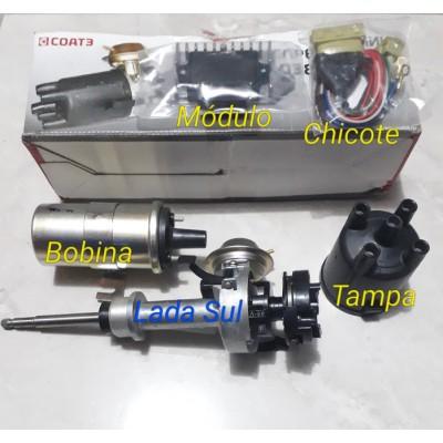 Kit Distribuidor  Ignição Eletrônica Sensor Hall  Lada Niva e Laika