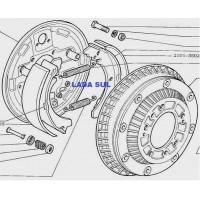 Reparo Centralizador do Patim freio Lada Niva e Laika