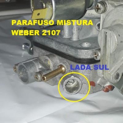 Parafuso da mistura Carburador Lada Niva laika  Weber russo 2107