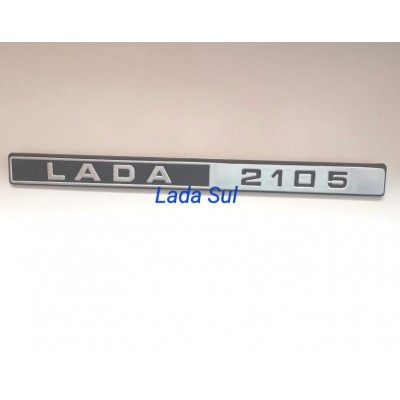 Emblema Lada Laika 2105 Porta malas